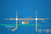 金色河畔交通图