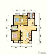 鼎旺90社区3室2厅1卫110平方米户型图
