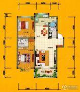 欣隆盛馨苑2室2厅2卫0平方米户型图