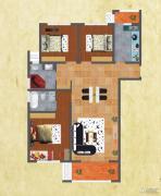 友谊嘉御龙庭3室2厅2卫129--133平方米户型图