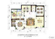 保利西山林语4室3厅5卫491平方米户型图