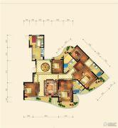 金隅观澜时代5室2厅3卫233平方米户型图