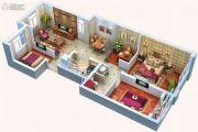 中天锦庭4室2厅1卫89平方米户型图