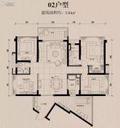 龙溪新城5室2厅2卫130平方米户型图