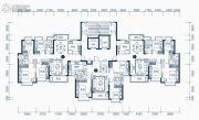东莞恒大滨江左岸3室2厅2卫107平方米户型图