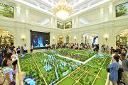 中国铁建西派城沙盘图