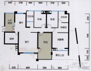 万科・翡翠传奇3室2厅2卫0平方米户型图