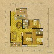 阳光蓝山郡三期3室2厅2卫133平方米户型图
