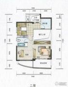 华融琴海湾3室2厅1卫161平方米户型图