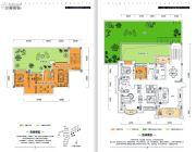 金牛国际社区4室3厅3卫255平方米户型图