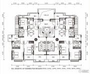恒大御景半岛3室2厅2卫143平方米户型图