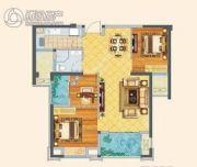 漳浦福晟钱隆首府3室2厅1卫0平方米户型图