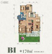 联投国际城170平方米户型图
