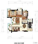 凯茵又一城(商铺)3室2厅2卫112平方米户型图