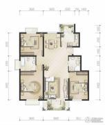 恒华・湖公馆3室2厅2卫0平方米户型图