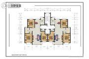 天野佳园3室2厅1卫121平方米户型图