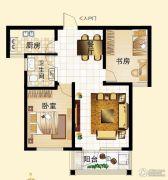 鼓浪屿小镇2室2厅1卫0平方米户型图