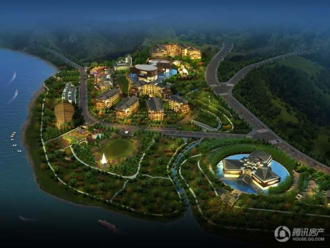 西恩-缙云山温泉度假区-鸟瞰3