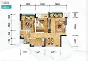 金科天宸0室0厅0卫64平方米户型图