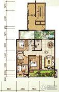 颐和山庄3室2厅2卫111平方米户型图