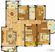 依云小镇4室2厅2卫192平方米户型图