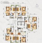 广晟圣淘沙59--77平方米户型图