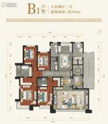 香檀一号5室2厅3卫280平方米户型图