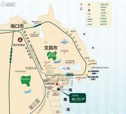中国铁建・书香小镇交通图