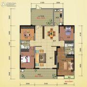 榕江明珠4室2厅2卫195--196平方米户型图