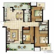 白塘壹号3室2厅2卫139--146平方米户型图