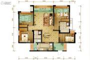 隆鑫十里画卷4室2厅2卫113平方米户型图