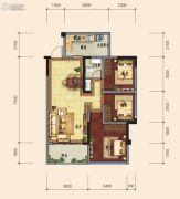 传化广场3室2厅1卫0平方米户型图