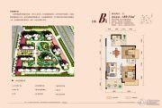 润稷・七里桥堡2室2厅1卫89--90平方米户型图