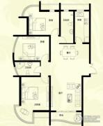 星河御城3室2厅2卫135平方米户型图